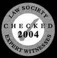 Law Society Checked Expert Witness